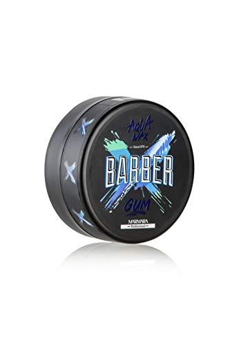 BARBER MARMARA GUM Aqua Hair Wax 150ml Bubblegum Gel-Wax mit Wet-Effekt Haarwachs mit Glanz - Haargel Kinder