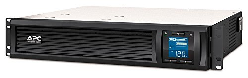APC 1500VA Smart UPS with SmartConnect, SMC1500-2UC Rack Mount UPS...