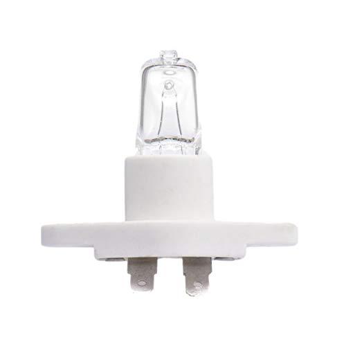 QUUY G9 Halogenlampen, 40W Mikrowellenherd Explosionsgeschützte Luftfritteus Lampe, 110V, 2600K Farbtemperatur, 350LM Helligkeit, 500 ℃ hitzetolerante Glühbirnen