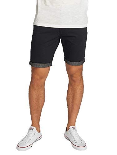 Brave Soul Herren Hosen Shorts Herren-Short Sport-Shorts Kurze Hose Bermuda Sommer Hanson (Navy Blau Chambray, M)
