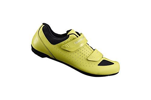 SHIMANO SH-RP1 Cycling Shoe, Neon Yellow, M 10.5-11