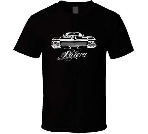 1970 Buick Riviera Grill View Dark Shirt XL Black