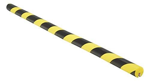 VESTIL FEG-A 폼 에지 코너 가드 1-1 | 2 직경 X40-1 | 2 길이 옐로우 | 블랙
