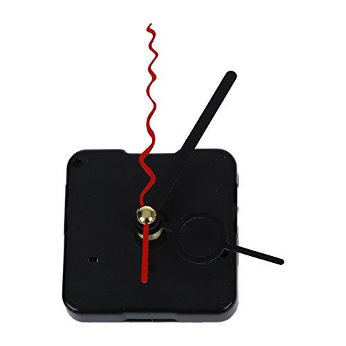 SODIAL(R) Reloj Mecanismo de movimiento silencioso de cuarzo con 3 agujas
