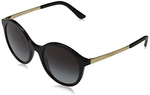 DOLCE & GABBANA Damen 0DG4358 Sonnenbrille, Braun (Black), 50