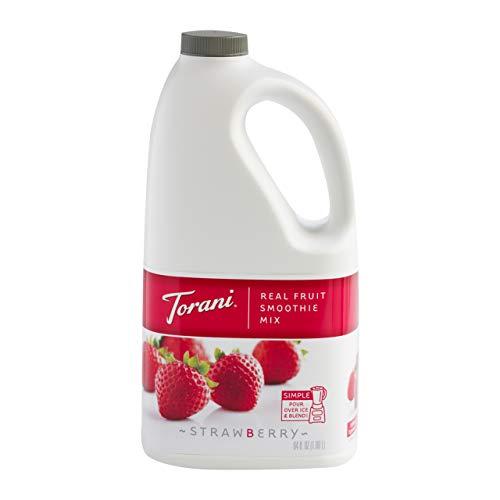 Torani Real Fruit Smoothie Mix, Strawberry, 64 Ounce