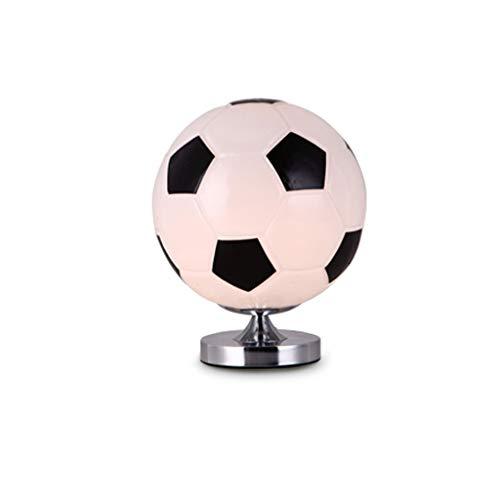 SPNEC lámpara de mesa, creativo Baloncesto lámpara de mesa, dormitorio de noche Protección de los ojos lámpara de escritorio de los niños de la lámpara, creativo de la manera de cristal lámpara de mes
