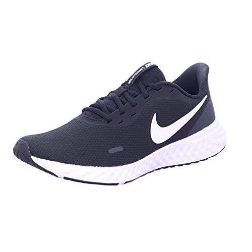 Nike Revolution 5, Zapatillas Hombre, Black/White Anthracite 204, 40 EU