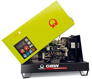 Stromerzeuger Notstromaggregat GBW15 / 400V / 230V 13,0 kW