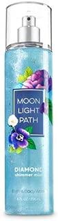 Bath and Body Works Moonlight Path Diamond Shimmer Mist, 8 Fl Oz