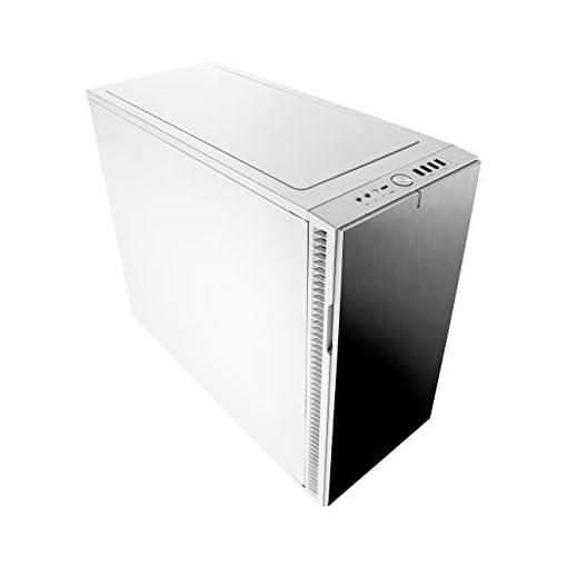 Fractal Design Define R6 USB-C Escritorio Blanco - Caja de ordenador (Escritorio, PC, Aluminio, Acero, Blanco, ATX,EATX… 8