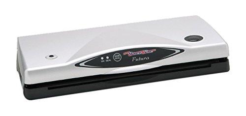 Magic Vac Futura Appareil de mise sous vide 150 x 390 x 80 mm, 2,3 kg, 140 W, 230 V, 50 Hz Noir/blanc