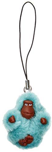 Kipling Monkeyclip Xs(10) - Portachiavi ad anello e catena Donna, Blu (Aqua Frost), 4x4.8x2.5 cm (B x H T)