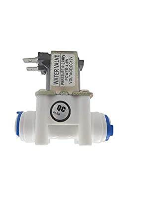 """GENEDEY 1/4"""" DC 12V Solenoid Valve N/C Normally Closed Water Inlet Flow Switch from GENEDEY"""