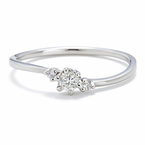 [キャーロ ディ ディアマンテ] CHIARO DI DIAMANTE プラチナ900 ダイヤモンドリング CHD0034 日本サイズ11号