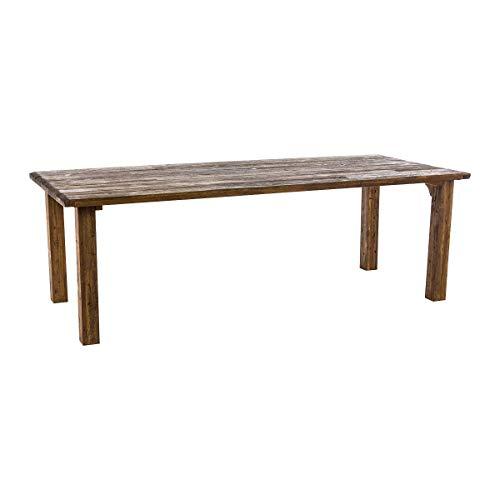 Pureday Gartentisch Ponto Vintage-Look Holz Rechteckig Natur