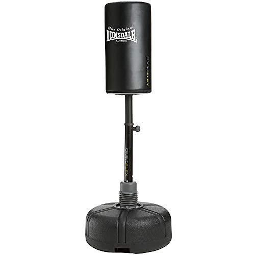 Lonsdale Unisex's Omniflex Free Standing Punch Bag-Black, One Size