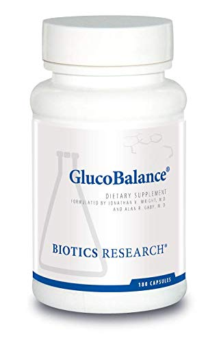 Biotics Research GlucoBalance Supports metabolic Health, Nutrients for Glucose Metabolism, Maintenance of Healthy Blood Sugars, Supports Healthy Insulin Response, Chromium, Vanadium, L-carnitine.
