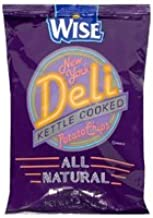 Wise NY Deli Potato Chips, 1.25-Oz Bags (Pack of 36)