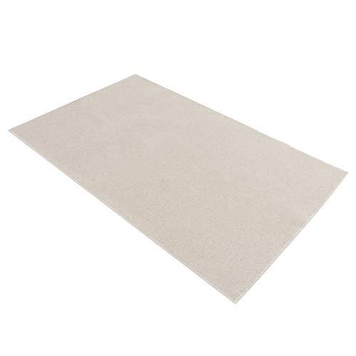 Tissu fermenté, tissu de cuisson à texture douce, tapis en tissu fermenté, maison lavable pour pains européens boulangerie baguettes longues(Cotton linen 45 * 75cm)