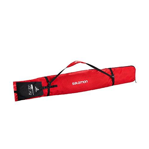 SALOMON ORIGINAL 1 Pair SKISLEEVE Ski/Board Bag, Barbados Cherry/Black, One Size