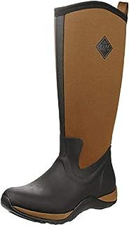 Muck Boots Women's Women's Arctic Adventure Rain Boot, Black Black Tan, 6 UK (B00TT3FKYK)   Amazon price tracker / tracking, Amazon price history charts, Amazon price watches, Amazon price drop alerts