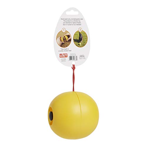 Lixit Chicken Toy, Yellow, Pack of 2