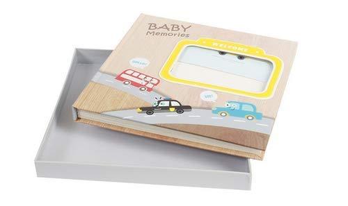 Babies Bloom Baby Sunshine 1st Year Memory Keepsake Book/Newborn Memory Keepsake Gift Set