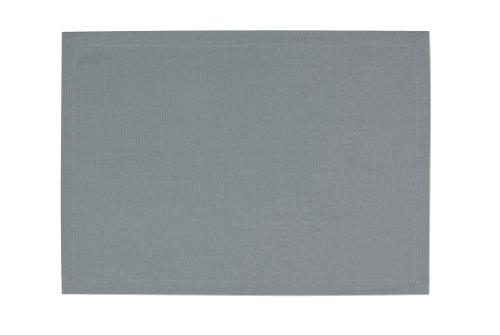Tom Tailor 562308 T-Dove Lot de 6 Sets de Table Coton Gris 35 x 50 cm