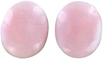 PINK Opening Oakland Mall large release sale PERUVIAN OPAL CABACHON PAIR 18x13mm OVAL