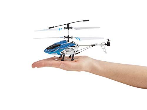 Revell Control RC Helikopter, ferngesteuerter Hubschrauber für Einsteiger, 2,4 GHz Fernsteuerung, einfach zu fliegen, Gyro, stabiles Chassis, LED-Beleuchtung, USB-Ladegerät – SKY FUN 23982 - 4