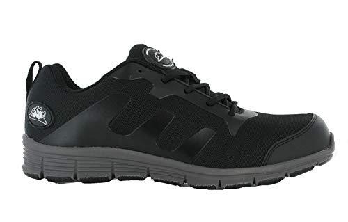 Sicherheitsschuhe für Groundwork Herren & Damen Leichte Stahlkappe Arbeitsschuhe Turnschuhe Stiefel Erhältlich in 36-47, - schwarz grau - Größe: 39 1/3 EU