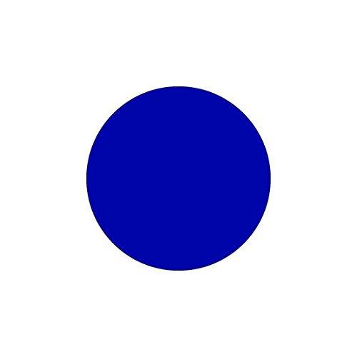 Plexiglas® Zuschnitte - Scheiben - Acrylglas 3mm glänzend mit Schutzfolie, Farbe:Blau, Größe:ScheibenØ 19cm