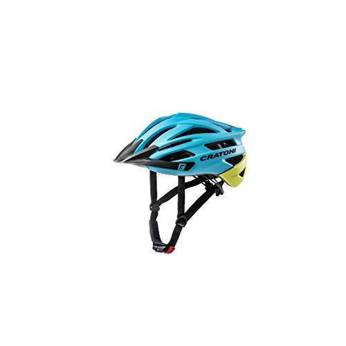 Cratoni Unisex– Erwachsene Agravic (MTB) Fahrradhelm, Blau, One Size