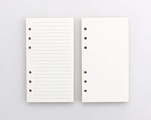 CEETOL システム手帳 リフィル A6サイズ2冊入 カラーインデックス リフター付け 横罫 クリーム バインダー