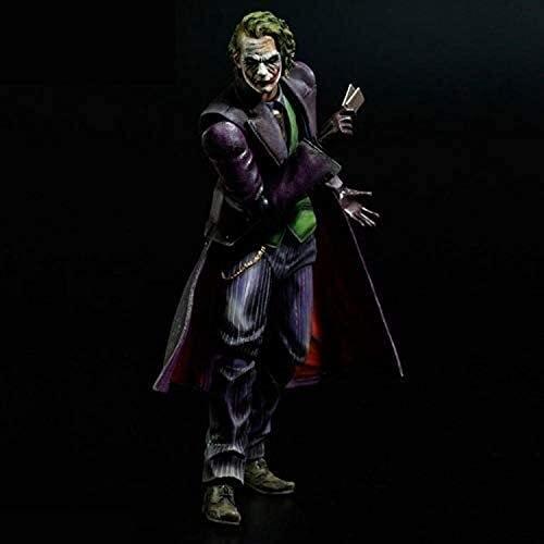 Dark Knight Joker Anime Figura de acción Coleccionable Modelo Estatua Toys Figuras de PVC Adornos de escritorio