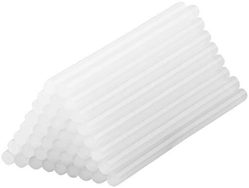AGT Heissklebesticks: 50 Klebesticks für Heißklebepistolen, 11 x 200 mm, weiß (Heissleim für Heissleimpistole)