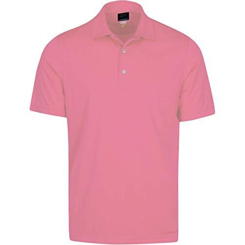 GREG NORMAN Herren Protek Ml75 Microlux 2 Below Solid Polo kurzärmelig, Pink Sky, X-Large
