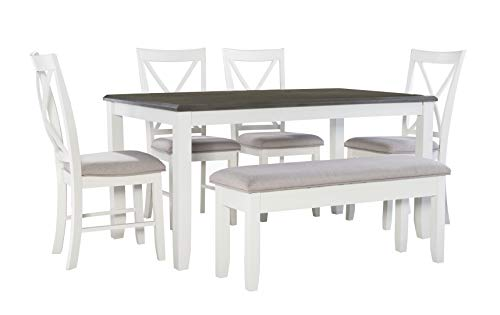 Powell Company Jane Grey 6 Piece Dining Set