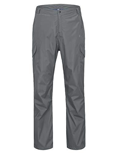 Little Donkey Andy wasserdichte Regenhose für Herren Atmungsaktive Golf-Wanderregenbekleidung Grau XX-Large