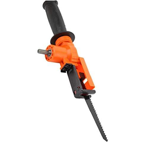 Taladro de vaivén sierra eléctrica del convertidor del adaptador portátil de bolsillo de cambiar la herramienta madera material duradero