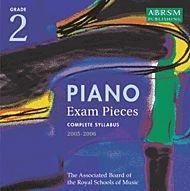 Piano Exam Pieces 2005-2006: Grade 2