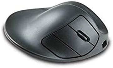 Hippus L2UB-LC Wireless Light Click HandShoe Mouse (Right Hand, Large, Black)