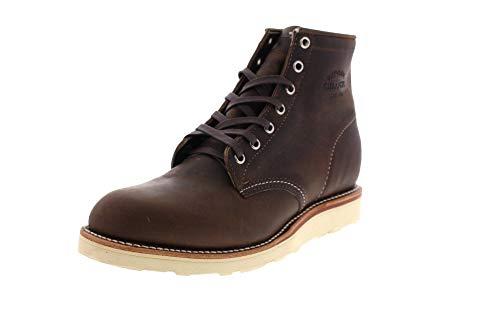 Original Chippewa Collection Men's 1901M16 6 Inch Plain Toe Boot, Cordovan, 10.5 D US