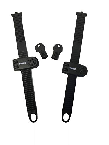 Thule Lockable Wheel Straps Buckle x2 for 591 Pro Ride Bike Cycle Carrier Rack