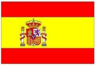 Bandera de España 150 x 90 cm. Tamaño estándar.: Amazon.es ...