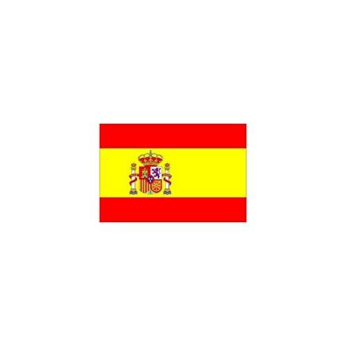F.G.F. IMPORT EXPORT S.R.L. Bandiera Spagna 150 x 90 cm. Misura Standard