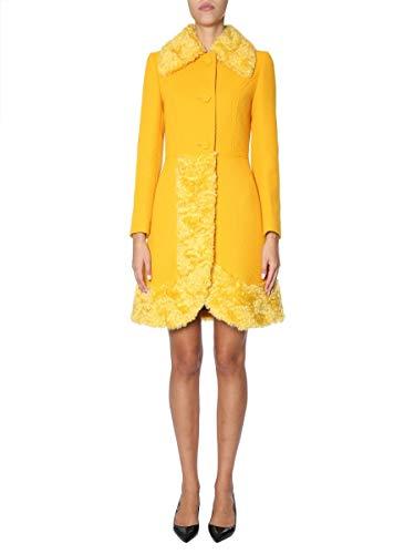 Moschino Luxury Fashion Damen A061054131029 Gelb Polyamid Mantel | Jahreszeit Outlet