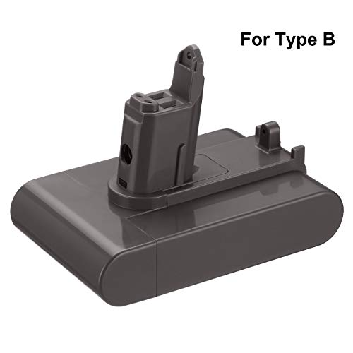 Dutyone 3500mAh 22.2V Type B Battery Replacement for DC31 Type B Replacement Compatible with Dyson Battery DC35 DC44 DC31 DC34 Type B Handheld Vacuum (ONLY Fit for Dyson Type B)
