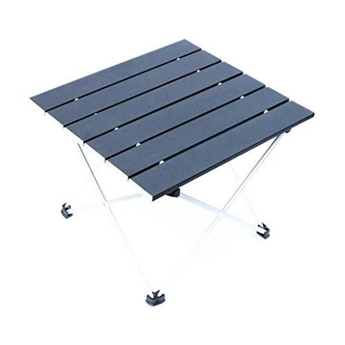 UNU_YAN Furniture Folding Table - Portable Casual Picnic Table Super Thick Outdoor Aluminum Table Picnic Tables for Outdoors